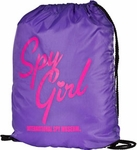 Spy Girl Drawstring Bag
