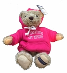 Spy Museum Herrington Bear in Pink (International Spy Museum Exclusive)
