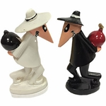 Spy vs Spy Mini Figurines (Set of 4)
