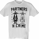 Spy vs Spy� Partners in Crime Tee (Unisex - Spy Museum Exclusive)