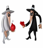 Spy vs Spy Vinyl Figures