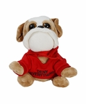 Stuffed Dog With �Deny Everything� Hoodie (Spy Museum Exclusive)