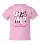 "Toddler ""Who Me?"" Owl Tee"