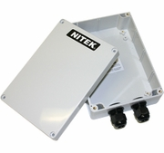 Nitek EE328W Outdoor IP Network and PoE Repeater - up to 328 feet (in weatherproof case)