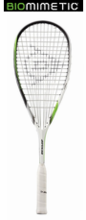 Pro's Frame - Dunlop Biomimetic MAX Squash Racquet, no cover