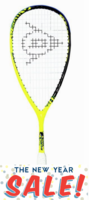 Dunlop Force Revelation 125 Squash Racquet, no cover