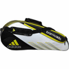 sold out - Adidas Barricade III Tour 3-Pack Racket Bag, Black /Silver / Gold