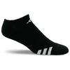 Adidas Cushioned No-Show Athletic Socks, Black, 3-pack