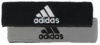 Adidas Interval Reversible Headband, White/Silver/Black
