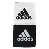 Adidas Interval Reversible Wristband, Black/White, 2-pack