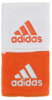 Adidas Interval Reversible Wristband, Orange / White, 2-pack