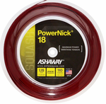 Ashaway PowerNick Squash String, 18 g, Red, REEL