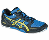 Asics Gel Blade� 4 Men's Court Shoes, Royal Blue / Yellow