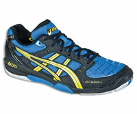 Asics Gel Blade™ 4 Men's Squash / Indoor Court, Royal Blue / Yellow