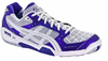 Asics Gel-Blade� 4 Women's Court Shoes, Deep Purple / White