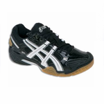 Asics Gel Domain 2 Squash / Court Women's Shoes, Black / White