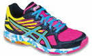 Asics Gel-Flashpoint 2 Women's Court Shoes, Black / Pink