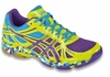 Asics Gel-Flashpoint Squash / Volleyball Women's Shoes, Yellow  / Blue / Turquoise