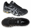 Asics Gel-Flashpoint Women's Court Shoes, Black / Silver