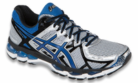 Asics Gel Kayano 21 Men's Running Shoes, Lightning / Royal / Black
