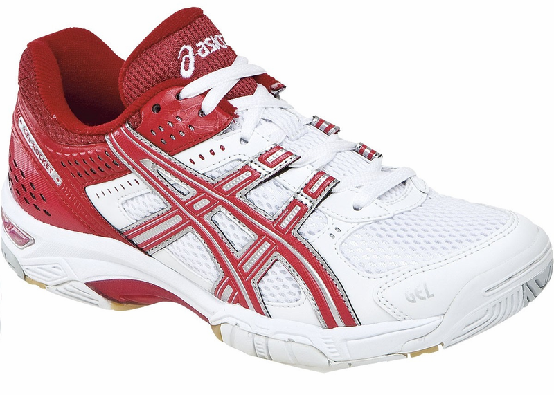 asics red shoes