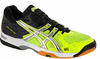 Asics Gel Rocket 6 Men's Squash / Volleyball Shoes, Yellow / Black / Silver
