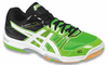 Asics Gel-Rocket 7 Men's Court Shoes, Neon Green