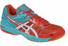 new color - Asics Gel Rocket 7 Women's Court Shoes, Diva Pink / White