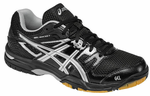 new color - Asics Gel Rocket 7 Women's Court Shoes, Onyx / Silver