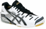 Asics Gel-Sensei 3 Squash / Indoor Court Women's Shoe, White / Black /Gold