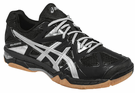 ASICS Gel-Tactic Women's Court Shoes, Black / Silver
