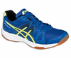 Asics Gel Upcourt GS Court Junior Shoes, Blue / Yellow / Black