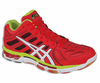 Asics GEL Volleycross 4 Revolution MT Court Men's Shoes, Blood Orange / White / Lime