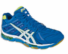 Asics GEL Volleycross 4 Revolution MT Court Men's Shoes, Blue / Lime