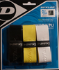 Dunlop Biomimetic Hydra Overgrip, Assorted Colors, 3-pack