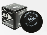 Dunlop Competition Single Dot Squash Ball, 1-pack