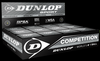 Dunlop Competition XT Single Dot Squash Ball, 1-pack