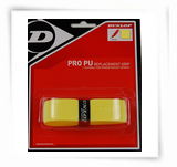 Dunlop Pro PU Replacement Grip, 1-pack, Yellow