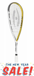last few - Harrow Jonathon Power Custom Turbo Squash Racquet