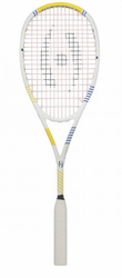 2017- Harrow Vapor Squash Racquet, White / Royal / Yellow