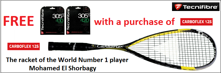The racket of Number One Player!