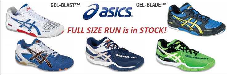 Asics GEL Blades and Blasts