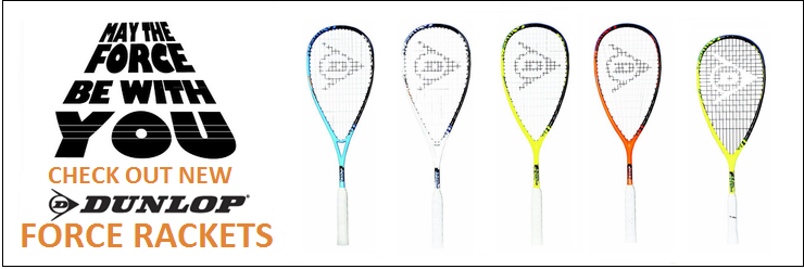New Dunlop Force Rackets