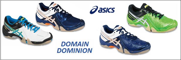 Asics Domain and Dominion