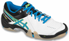 Asics Gel-Domain 3 Women's Squash / Court Shoes, White / Diva Blue