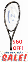 last few - Harrow Jonathon Power Spark Squash Racquet