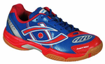 last few - Harrow Volt Men's Squash / Racquetball Shoes, Blue/Red