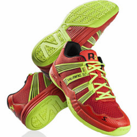 Last few - Salming 2015 Race R2 2.0 Men's Court Shoes, Red, SIZE 12.5