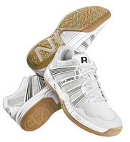 Last few - Salming 2016 Race R2 3.0 Men's Court Shoes, White, SIZE 8.5