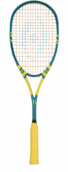 2017 - Harrow Sublime Squash Racquet, Teal / Green / Yellow